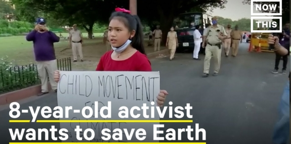 This 8-Year-Old Is Leading India's Youth Climate Movemen