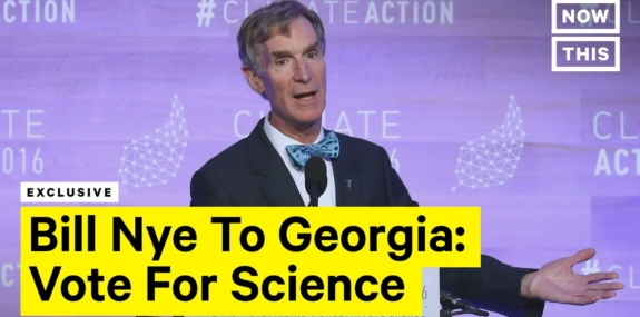 Bill Nye Wants Georgia to Vote for Science
