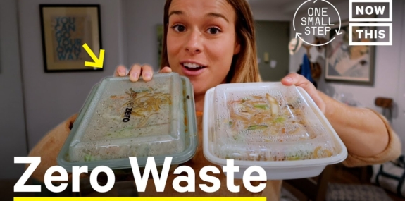 I Tried Zero Waste Take-Out (DeliverZero)