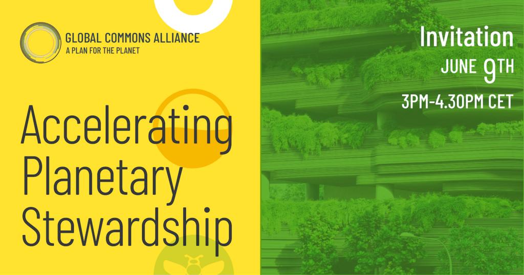 Global Commons Alliance - Accelerating Planetary Stewardship
